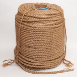 №75 Канат джутовый (верёвка) (10 мм -200 м)