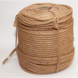 №76 Канат джутовый (верёвка) (12 мм -200 м)