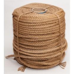 №78 Канат джутовый (верёвка) (14 мм -200 м)