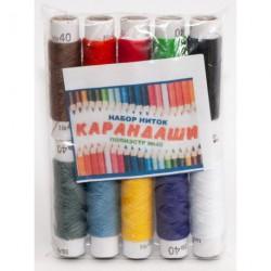 №236 Нить Карандаш цветной