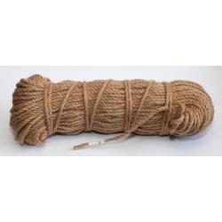 №34 Канат джутовый (верёвка) 6 мм (100 м)