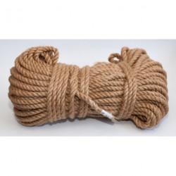 №36 Канат джутовый (верёвка) 10 мм (50 м)
