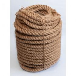 №40 Канат джутовый (верёвка) 18 мм (50 м)
