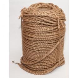 №74 Канат джутовый (верёвка) (8 мм -200 м)